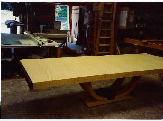 African Satinwood Table Top
