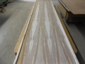 Bookmatched Red Gum Panel
