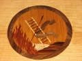 Marquetry by KB employee James Yager