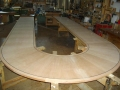 Plain Sliced Cherry Conference Table