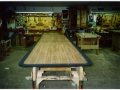 Santos Rosewood and Black Pearwood Border Table Top